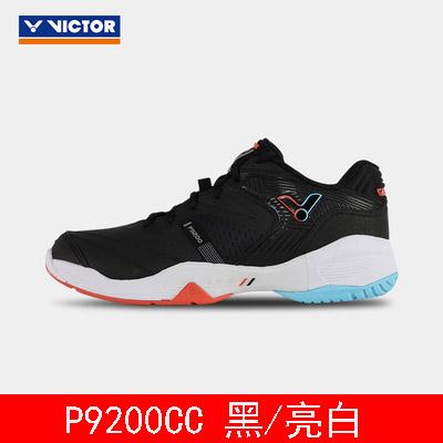 胜利VICTOR羽毛球鞋 p9200cc 黑/亮白 中性款专业羽毛球鞋 减震 透气 防滑 戴资颖专属战靴