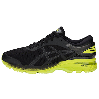 ASICS亚瑟士 GEL-KAYANO25 稳定慢跑鞋 男款K25跑步鞋 1011A019 黑色(新品尝鲜)